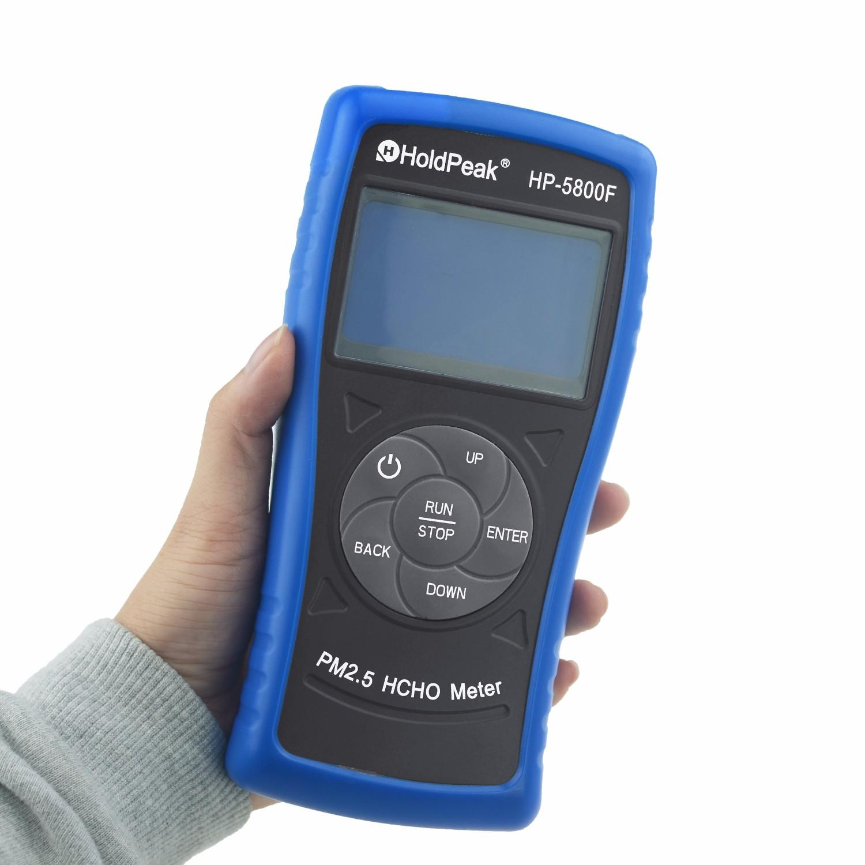 product-formaldehyde detector FormaldehydeHCHO Tester, PM25 formaldehyde detector HP-5800F-HoldPeak-