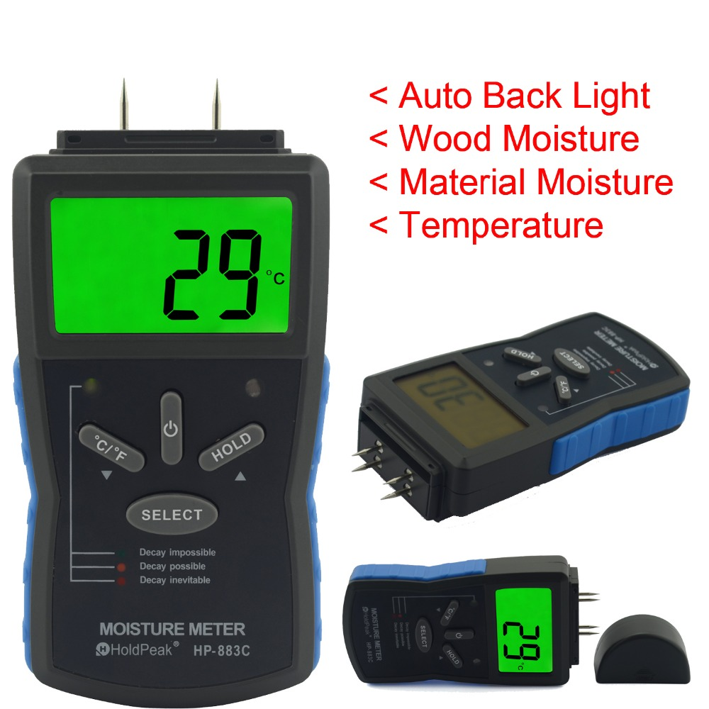 HoldPeak stable moisture meter detector manufacturers for electronic-measuring instruments supplier,