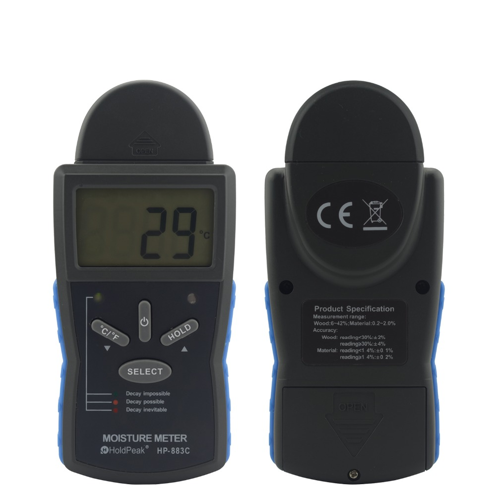 HoldPeak stable moisture meter detector manufacturers for electronic-HoldPeak-img