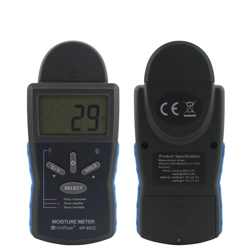 beat seller wood moisture meter LCD Wood Moisture Meter HP-883C