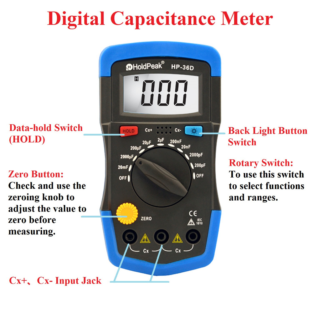 portable ac current multimeter portable for business for measurements-1