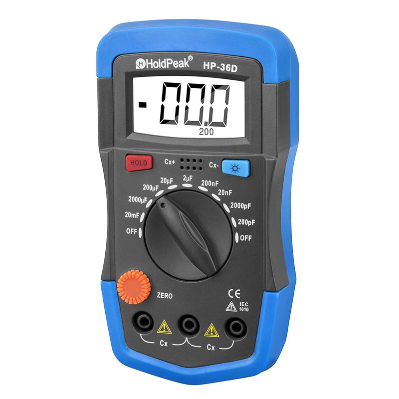 product-HoldPeak-Digital Multimeter for measure capacitance Data Hold Back light HP-36D-img