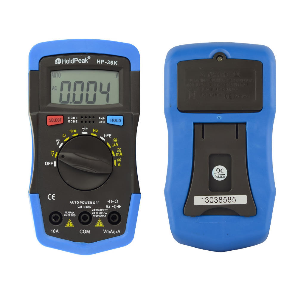 HoldPeak excellent usb digital multimeter Supply for testing