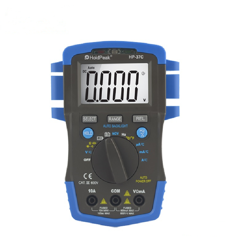 product-HoldPeak-Resistance Multimeter for resistance,capacitance,temperature,frequency HP-37C-img