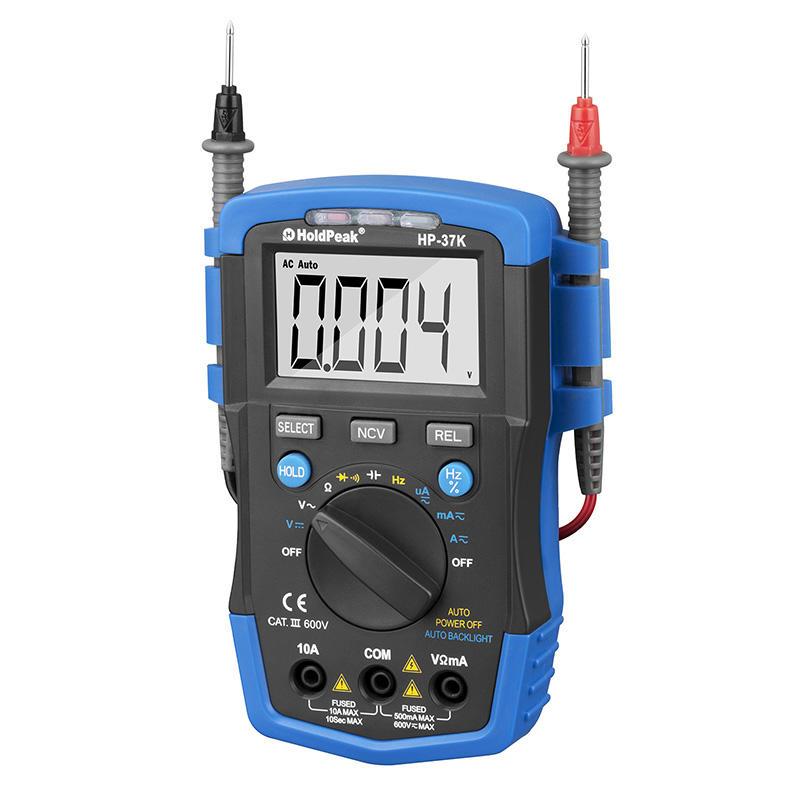 Small size professional digital multimeter,professional testing measurement.,HP-37K