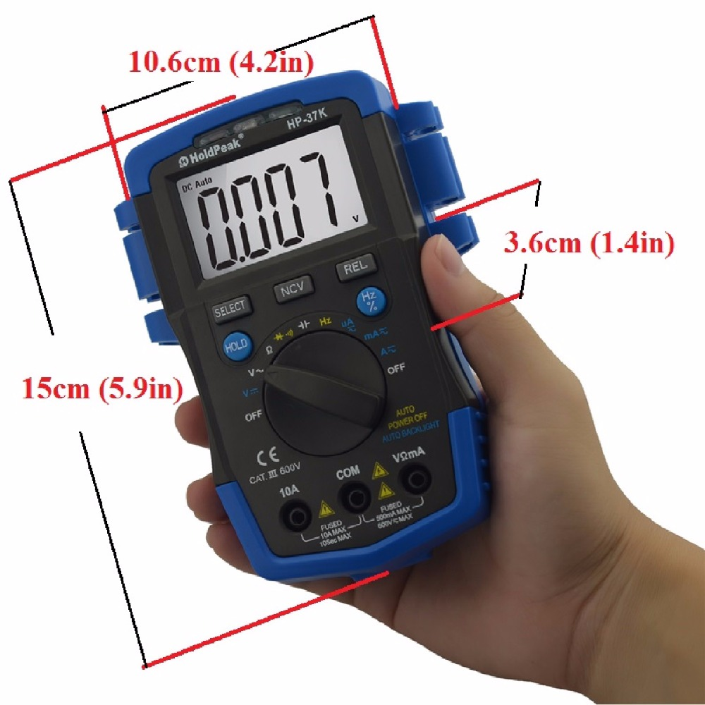 HoldPeak stable how can use multimeter factory for electronic-3