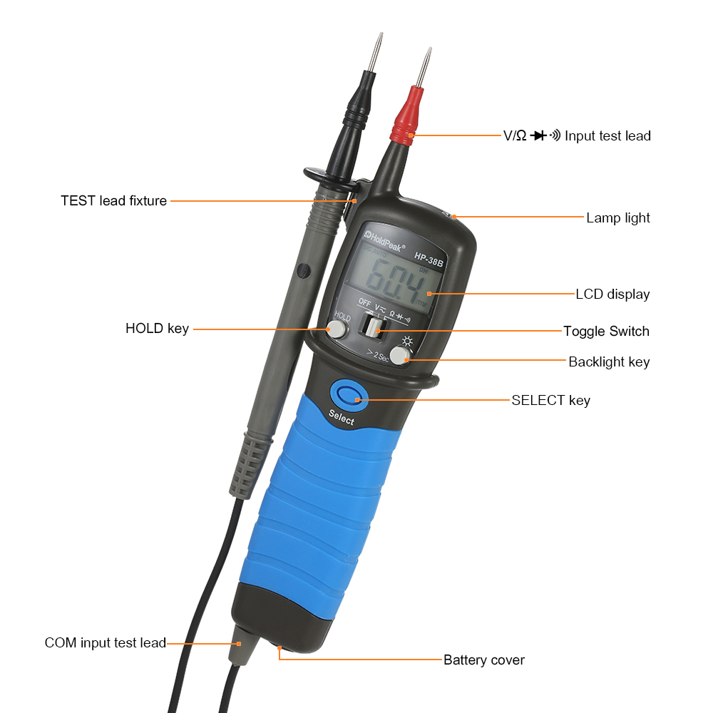 product-The pen type multimeter ,slim size,HP-38-HoldPeak-img