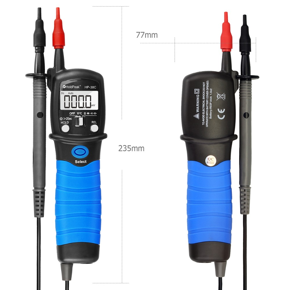 product-pen type multimeter ,DCAC voltage, resistance,capacitance,HP-38C-HoldPeak-img