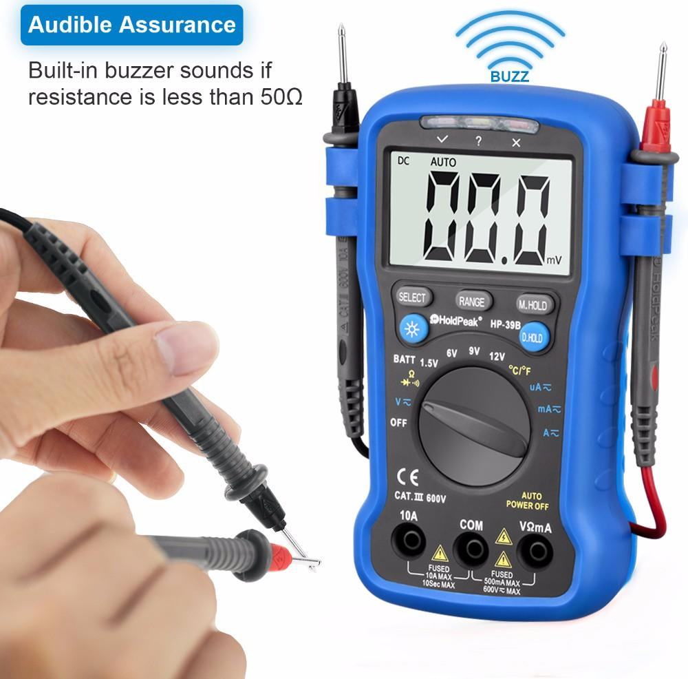 HoldPeak new arrival auto multimeter tester for wholesale for physical