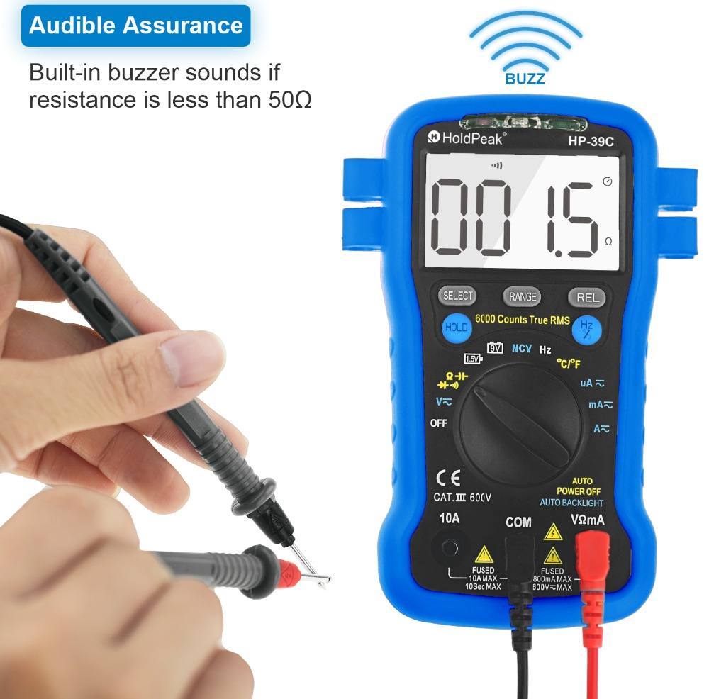 HoldPeak stable different types of digital multimeter manufacturers for electrical-HoldPeak-img-1