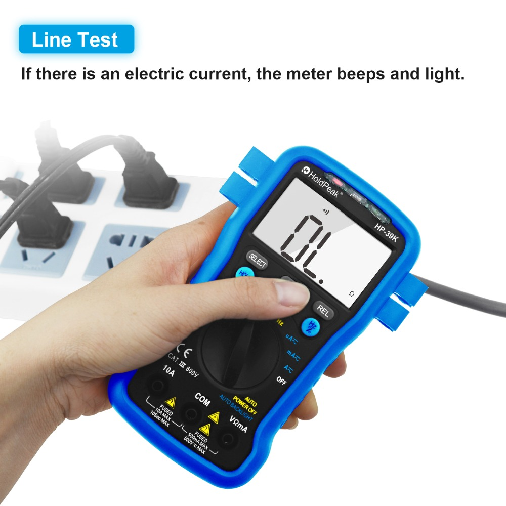 HoldPeak selecttrue electronic multi tester Suppliers for testing-3