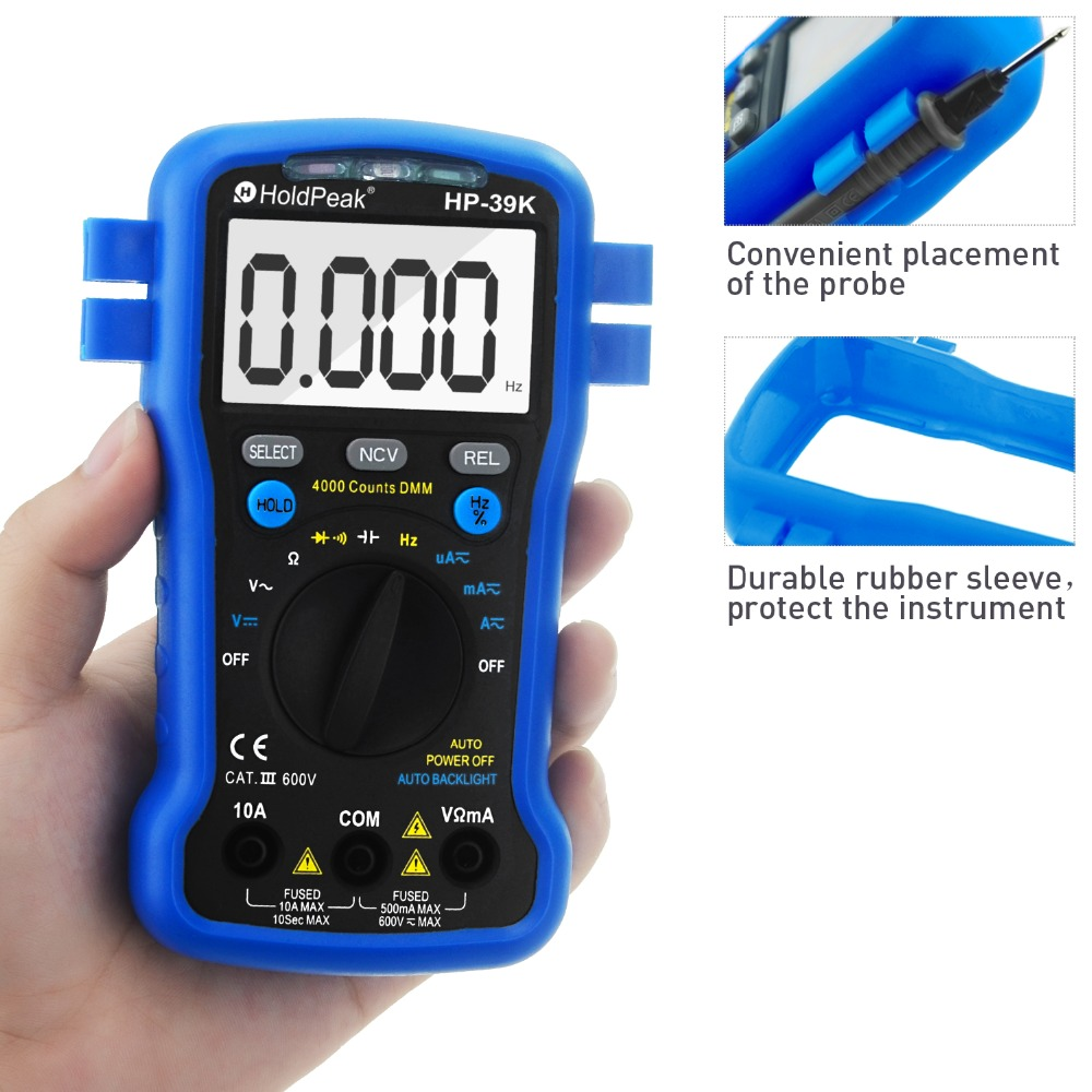HoldPeak selecttrue electronic multi tester Suppliers for testing-4