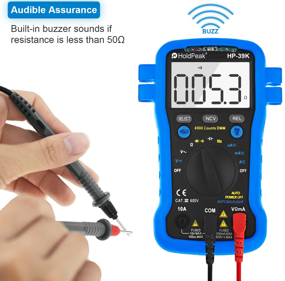 HoldPeak selecttrue electronic multi tester Suppliers for testing-6