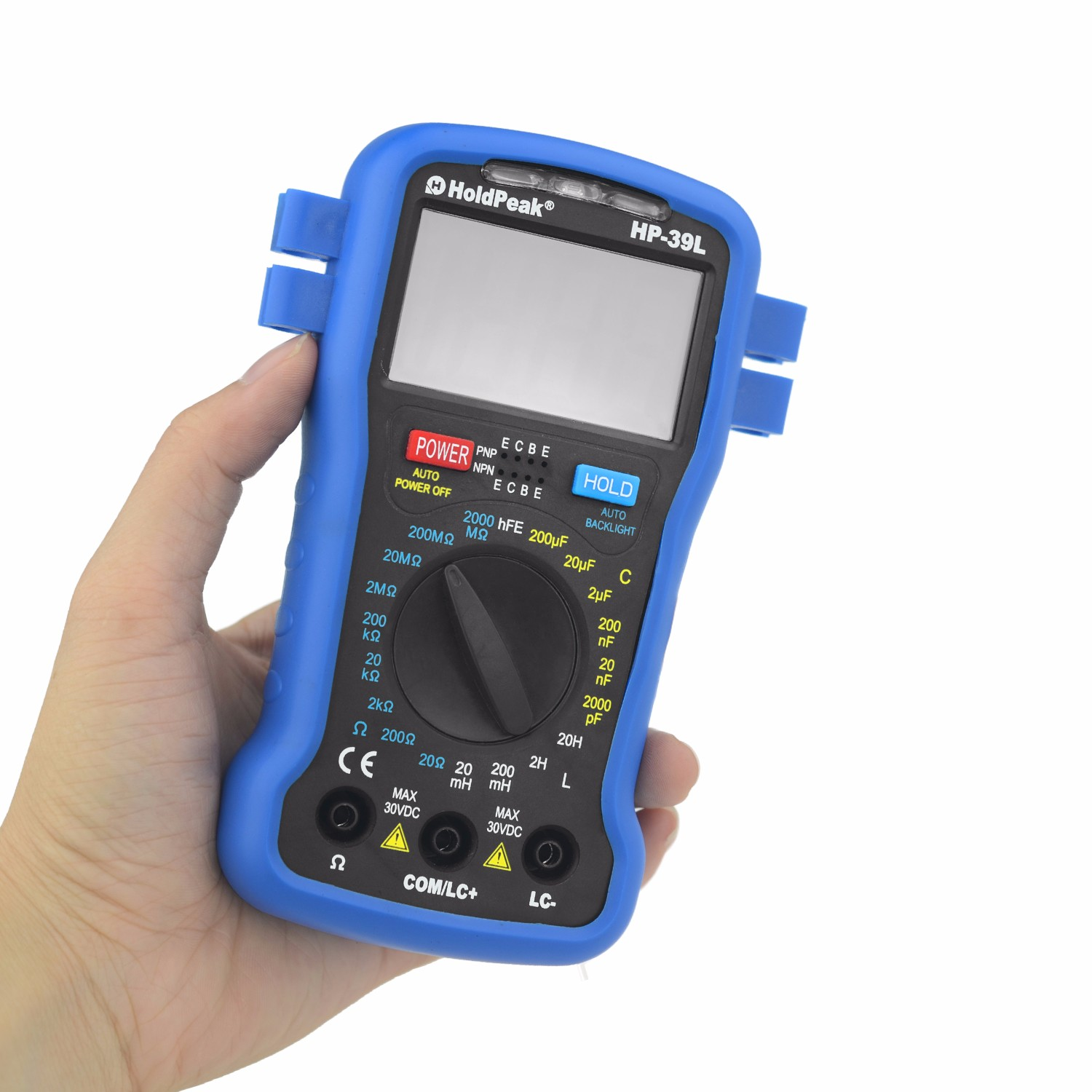 HoldPeak excellent commercial electric multimeter manufacturers for electrical-4