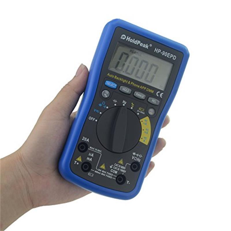 video-HoldPeak connect digital multimeter overseas market for measurements-HoldPeak-img-1