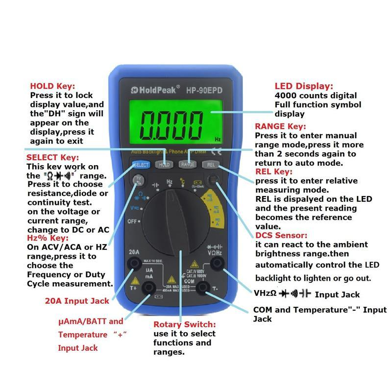 competetive price electrical digital multimeter grab now for electronic