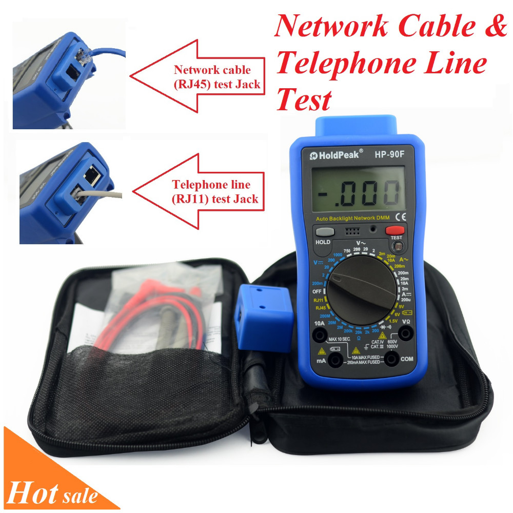product-Electrical Test Equipment ACDCvoltage,ACDCcurrent,resistance,TelephoneLineHP-90F-HoldPeak-im