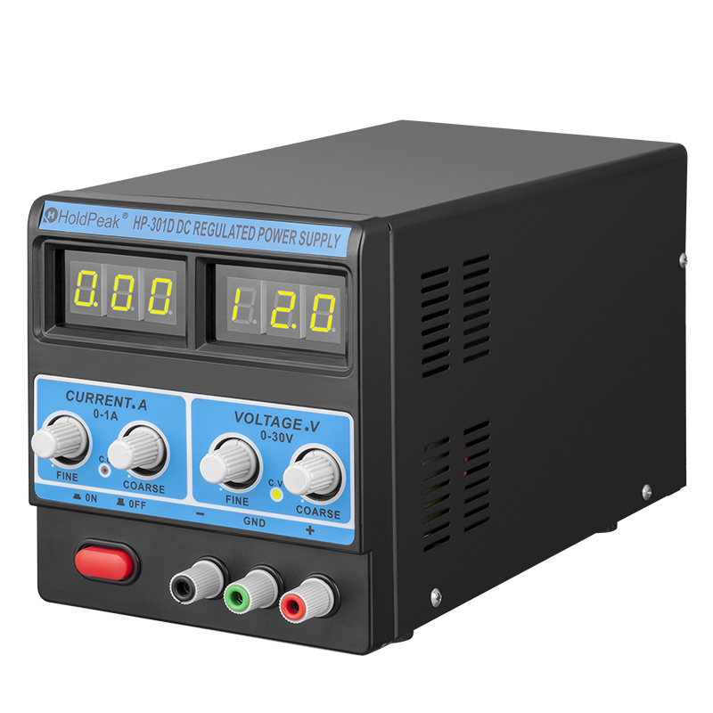product-switching led power supply, dc regulated power supply HP-301D-HoldPeak-img