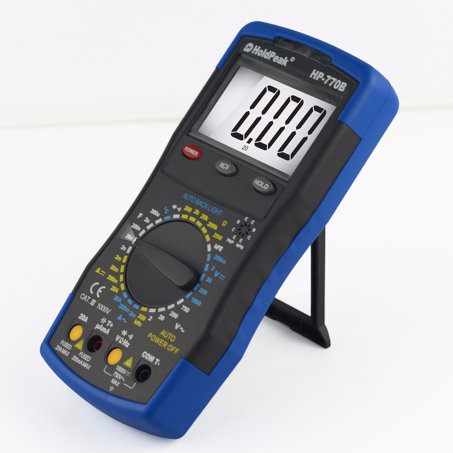 HoldPeak size automotive multimeter Supply for physical-1