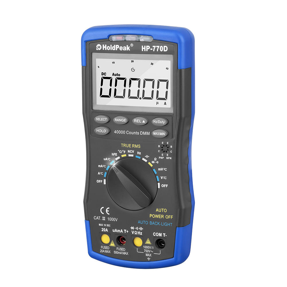high-accuracy auto range digital multimeter, slim size, portable, stable performance,HP-770D