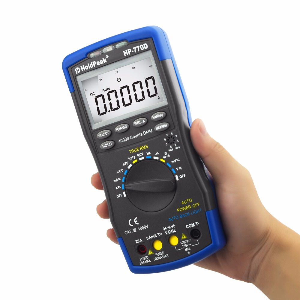 HoldPeak New professional digital multimeter Supply for electrical-measuring instruments supplier, d