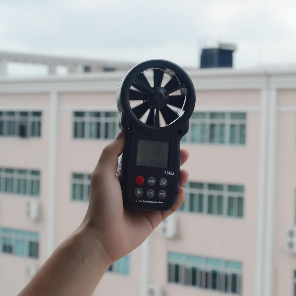 Anemometer digital wind speed meter  anemometer for tower crane  HP-866B