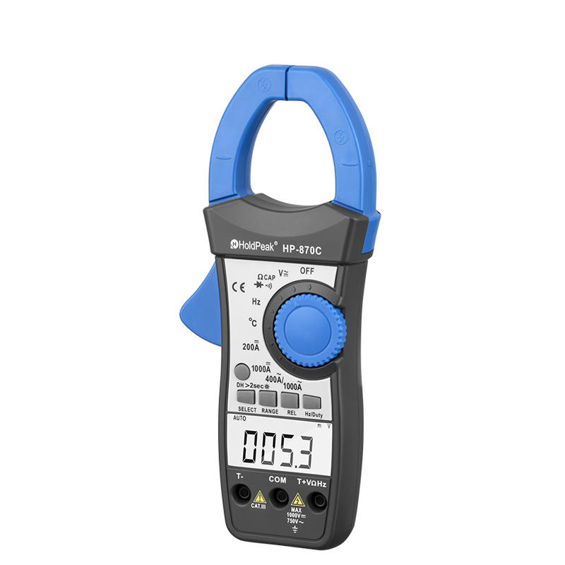 power clamp meter, voltage tester digital ac/dc clamp meter HP-870C
