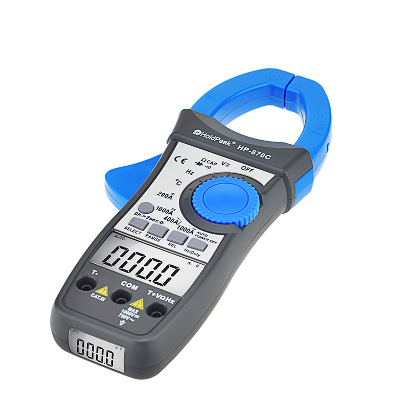 product-power clamp meter, voltage tester digital acdc clamp meter HP-870C-HoldPeak-img