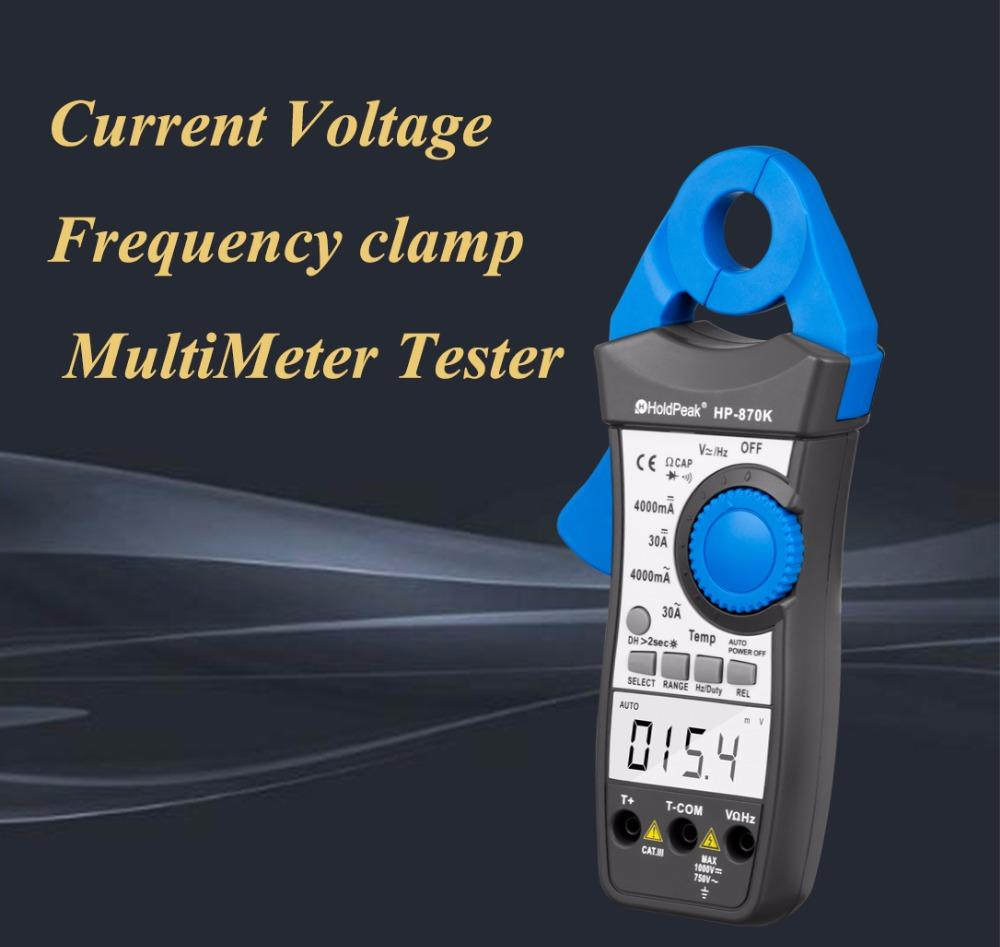 HoldPeak Custom inductive clamp meter factory for electricity chemical industries
