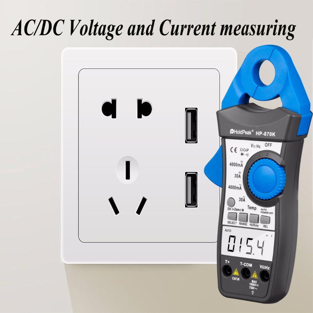 product-HoldPeak-digital clamp meter, digital clamp multimeter ,clamp meter HP-870K-img