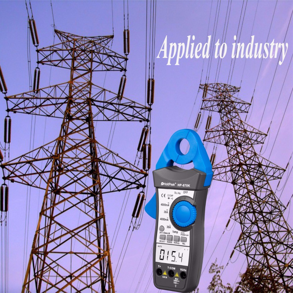 HoldPeak Custom inductive clamp meter factory for electricity chemical industries-4