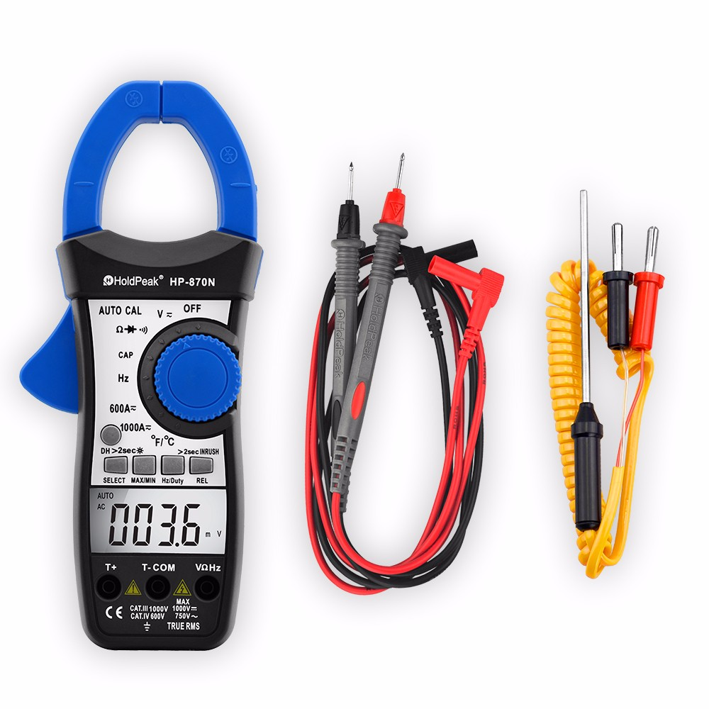 HoldPeak price clip multimeter factory for communcations for manufacturing-6
