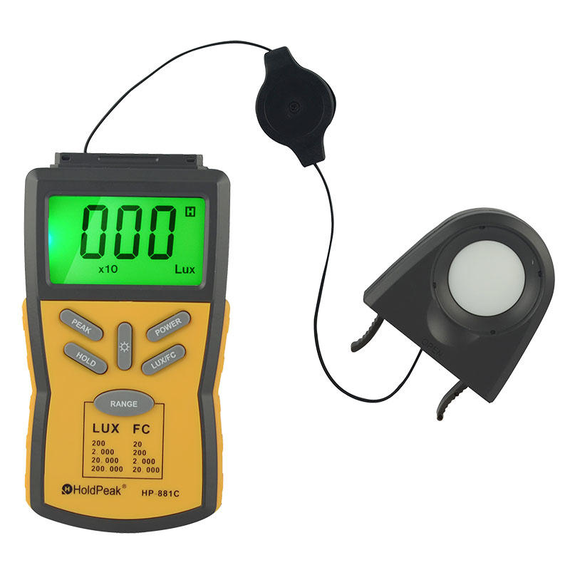 LED light meter, lux measurement,HP-881C
