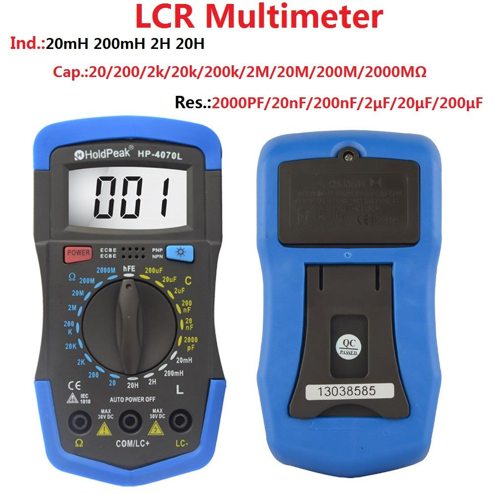 digit electrical multimeter tester overseas market for measurements HoldPeak