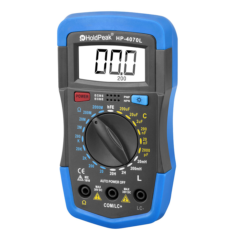 product-Handheld Multimeter Insulation Tester for resistance,capacitance ,inductance HP-4070L-HoldPe