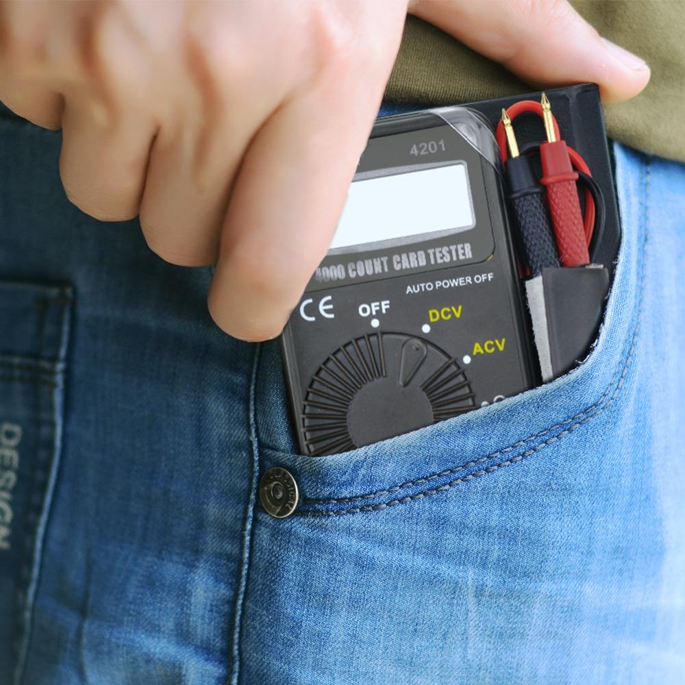 HoldPeak small digital multimeter voltmeter company for electronic-4