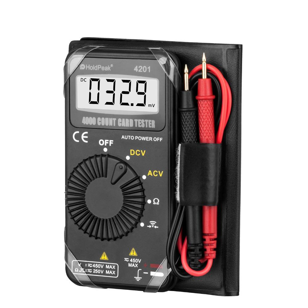 HoldPeak Top electronic multimeter factory for testing