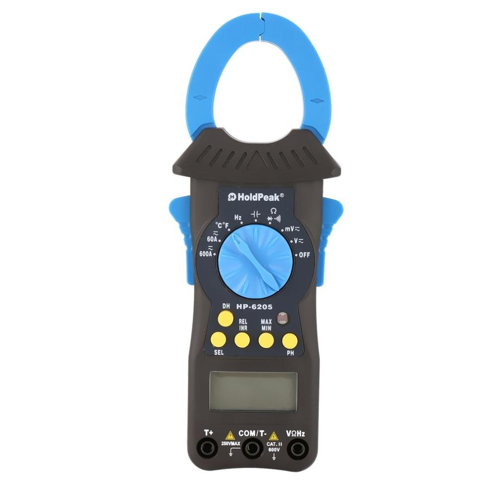 digital clamp multimeter, ac dc clamp meter HP-6205