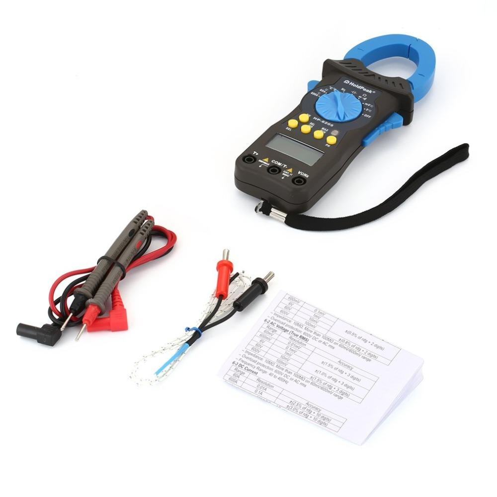 HoldPeak automatic ac dc clamp meter bulk promotion for national defense
