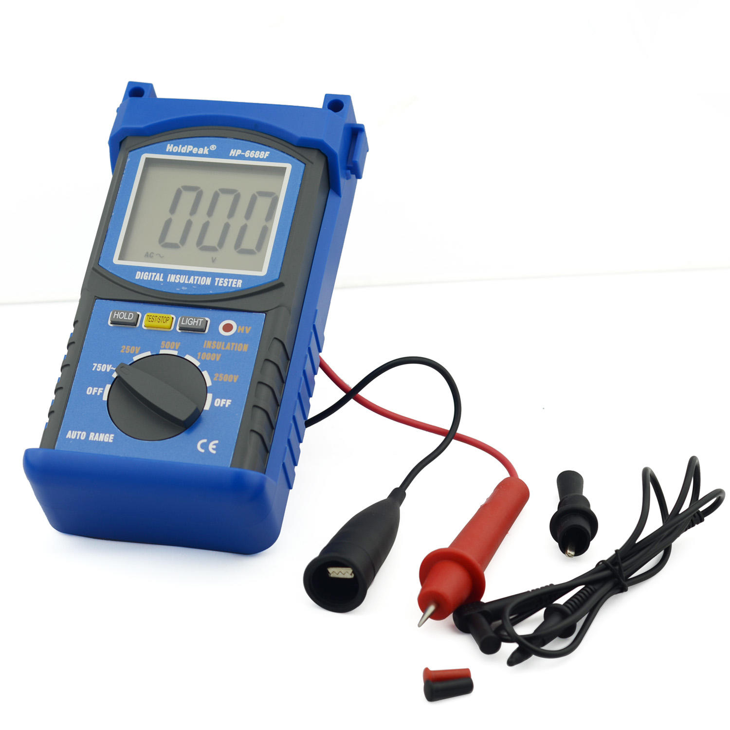 digital analog insulation tester hp6688b for verification HoldPeak