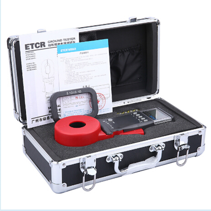 product-Clamp Earth Resistance Tester, Clamp On Ground Resistance Tester HP-7000-HoldPeak-img