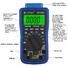 HoldPeak automatic sun modular engine analyzer for business