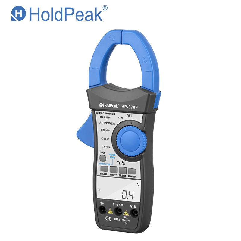 digital power clamp meter,  handheld aptitude meter HP-870P