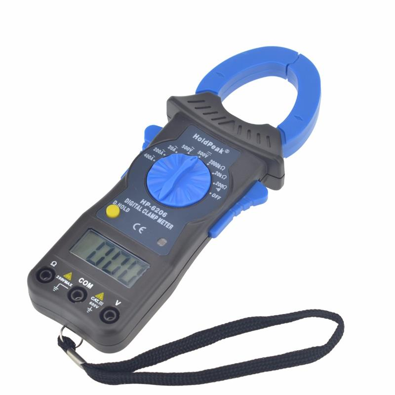 product-HoldPeak-clamp meter , 500V digital multimeter, high voltage clamps HP-6206-img