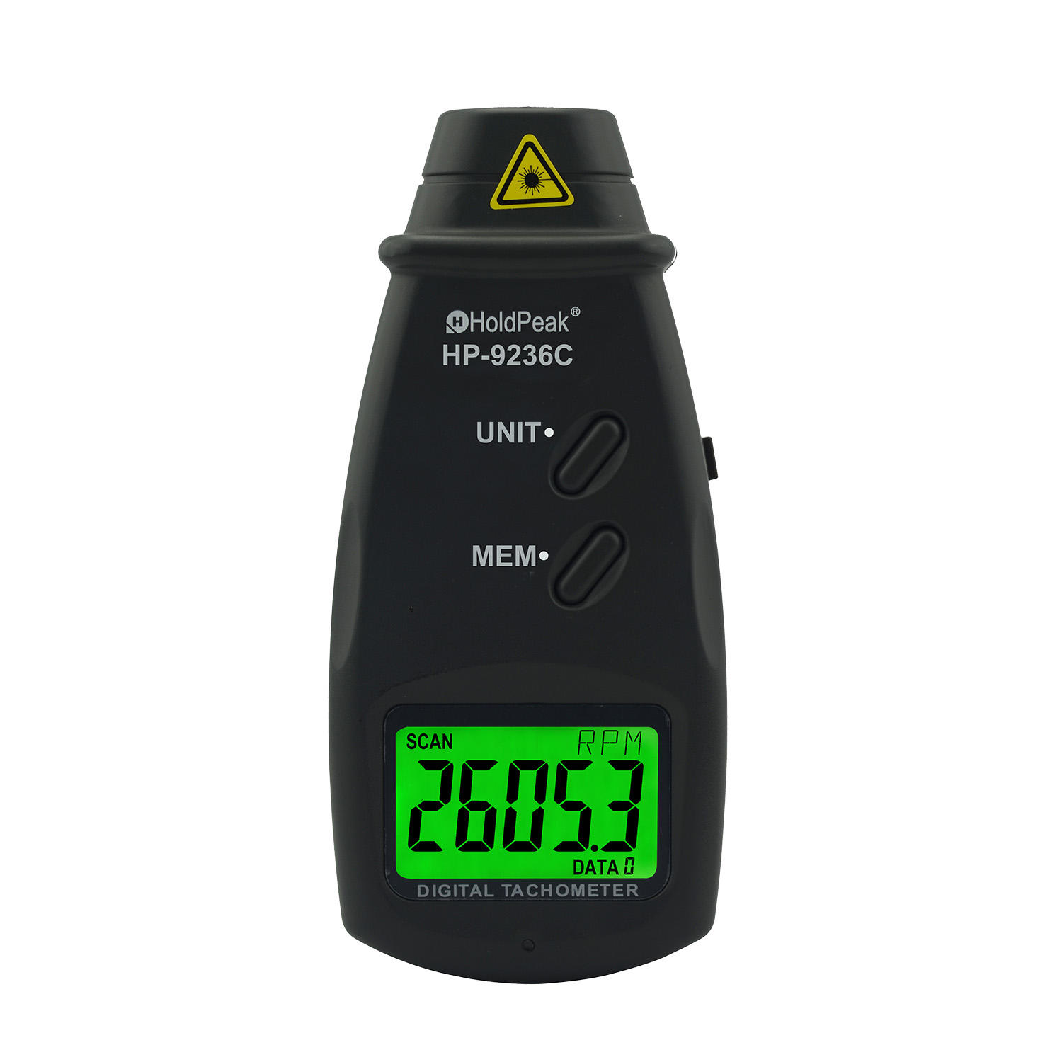 laser tachometer & dc current clamp meter