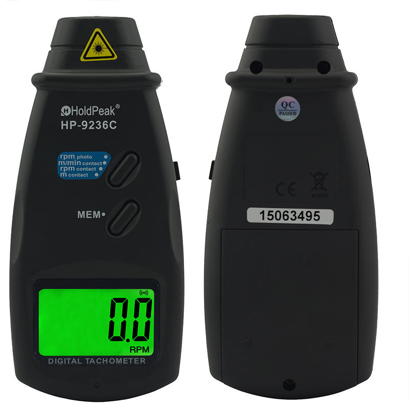 HoldPeak Wholesale handheld digital tachometer manufacturers for automobiles