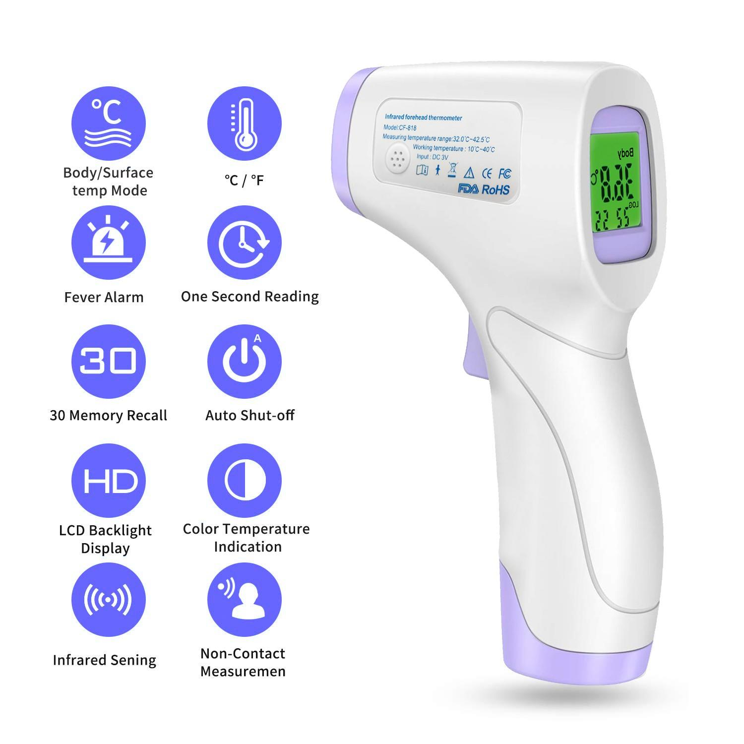 HoldPeak hp970b ir laser thermometer for business for customs