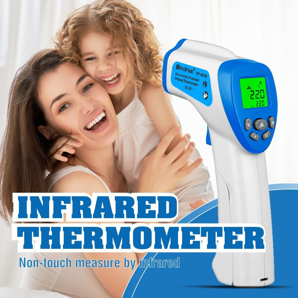Infrared Thermometer Alarm set infrared thermometer IR Thermometer HP-980B