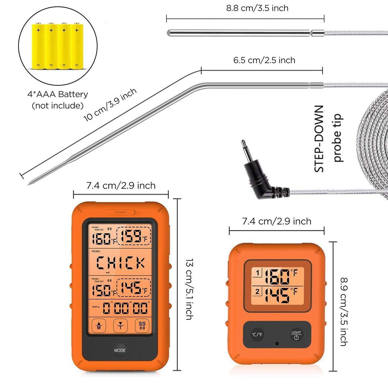 professional kitchens thermometer