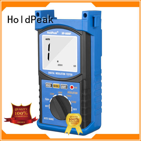 moisture-proof analog insulation tester supplier for maintenance HoldPeak